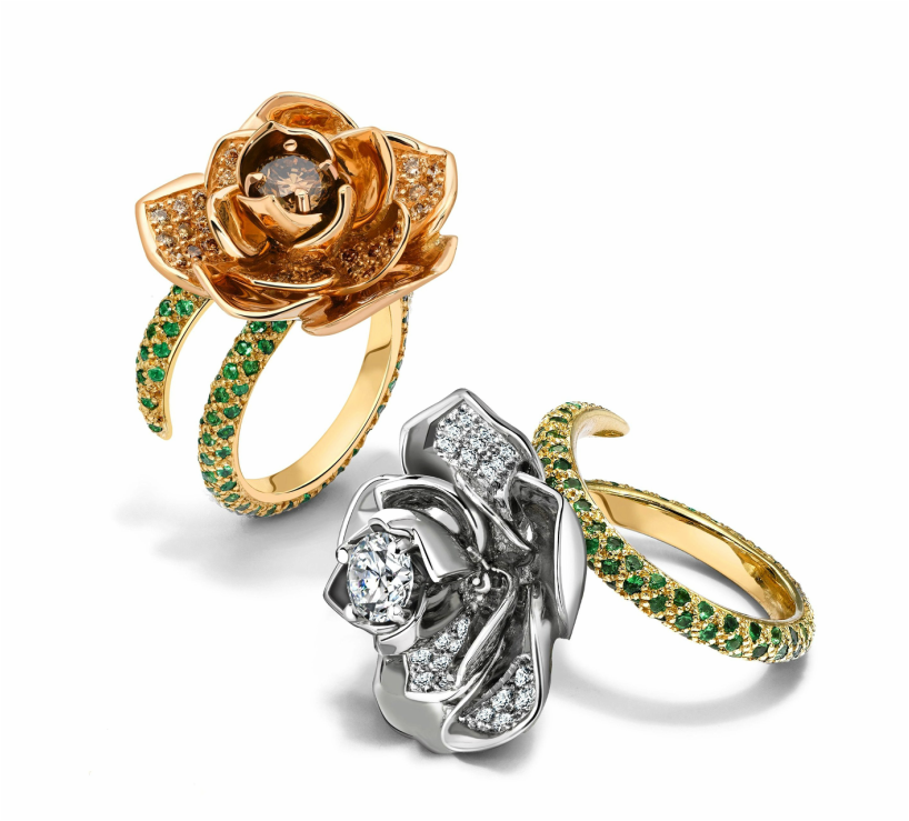 Designer jewellery exclusive to Lanes Jewellers in Leicester, England.