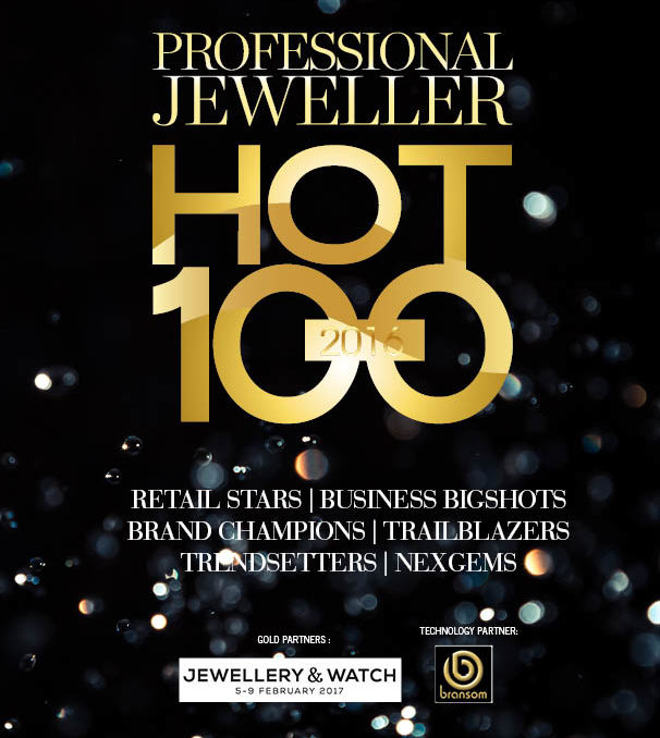 Professional Jeweller HOT100 2016