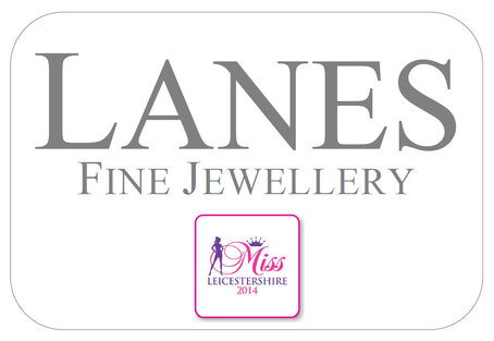 Lanes sponsoring Miss Leicestershire 2014