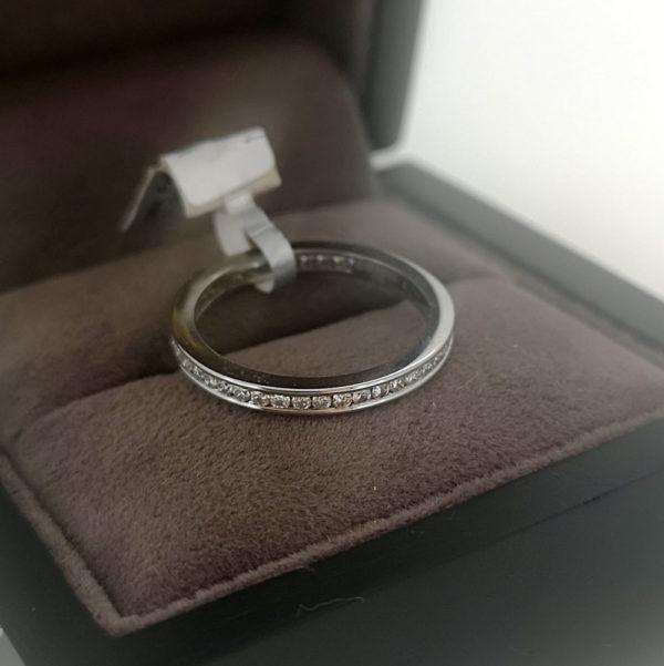 0.50 Carat Full Channel Set Diamond Ring